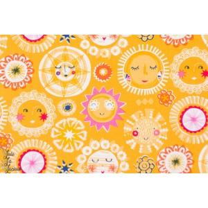Popeline coton dashwood studio  Rain or Shine 1095 soleil beau temps été