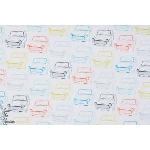 Popeline dashwood studio coton  autos VROO 1036