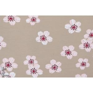 Jersey Bio fleurs de cerisiers lillestoff susalabim jardin japonais