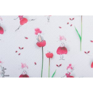 Jersey bio Tulpinchen  Lillestoff tante Gisi tulipe fleur