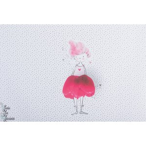 Jersey bio Tulpinchen  Panneau 1 Lillestoff tante Gisi