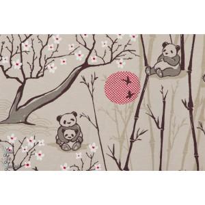 Jersey Bio Forêt aux pandas jardin japonais lillestoff susalabim susane bochem