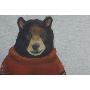 Panneau french tery  Bio l'ours Bruno Bio Bunt