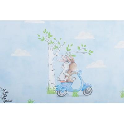 Panneau jersey  Bio '' Best friends'' Bio Bunt