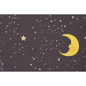 Jersey Bio Lillemond nuit lune étoiles ciel couture enfant lillestoff