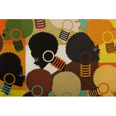 Popeline Alexander henry Electra Mosaic  - Africa