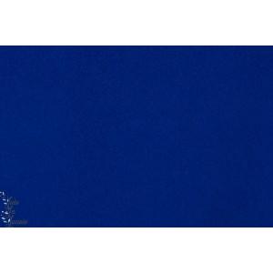 Tissu manteau caban Bleu Cobalt