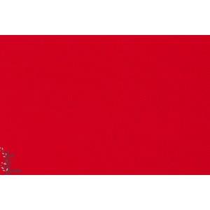 Coton Sergé Twill rouge