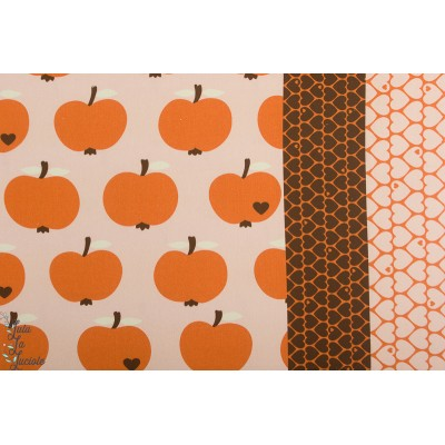 canvas  Apfel orange By Graziela