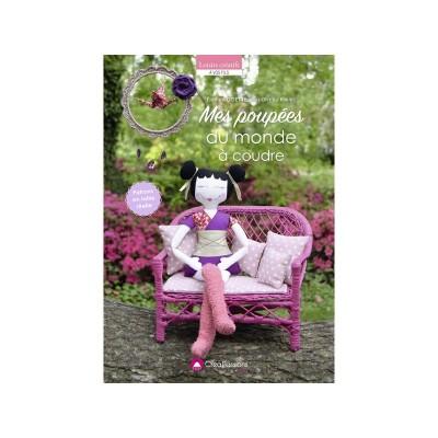 livre couture patron Mes Poupée du monde à coudre Elodie NOISETTE créapassion