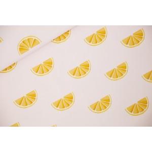 Canvas SYAS Oranges - Toile de Coton Gabardine - Rose Primevère