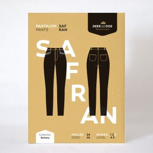 Patron couture femme mode Pantalon Safran deer and doe