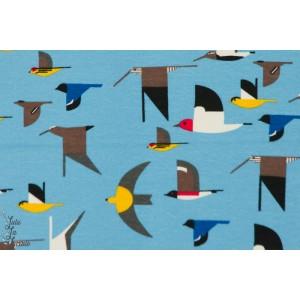 jersey Bio Maritime Birds oiseau de mer birch bleu