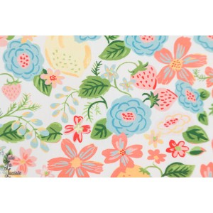 Popeline Orchard from Vintage 74  By Monaluna Fabrics
