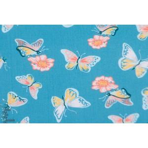 Popeline Flutter from Vintage 74  By Monaluna Fabrics