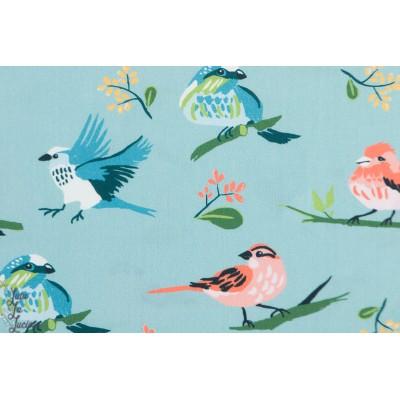 Popeline Flock from Vintage 74  By Monaluna Fabrics