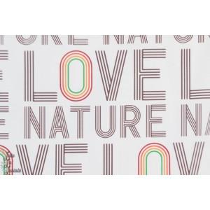 Jersey bio Love Nature Regenbogen Lillestoff