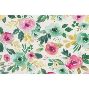 Popeline Bio - Nightfall Floral 610111 felicity fabrics