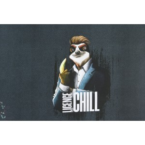 Panneau Sweat Licence to Chili by thorsten berger