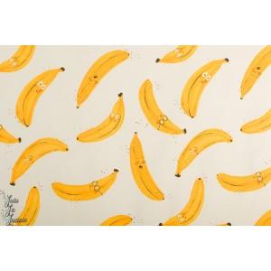 Sweat french Terry  Bio Bananas natural  Mieli Design