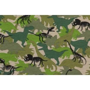 Jersey bio Poppy dino camouflage