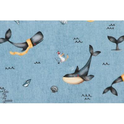 Jersey bio Poppy digitale whale