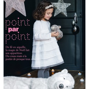 Patron couture mode  robe fille PETITE FEE atelier scammit lmarie claire