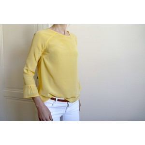 Patron couture top tshirt mode blouse femme STOCKHOLM atelier scammit