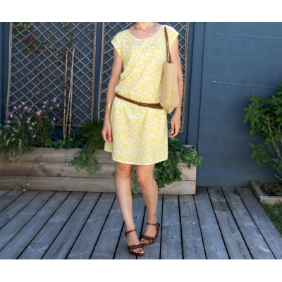 Patron couture mode  robe femme TOKYO été atelier scammit
