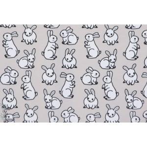 Jersey STENZO Lapinou bl fd gris animaux lapin  enfant bébé