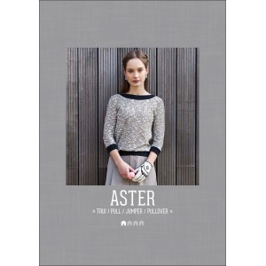 Patron couture femme mode top sweat  Pull ASTER maisson victor