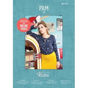 Patron top femme chemise blouse mode PAM maison victor