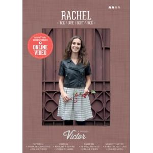 Patron couture mode femme  Jupe RACHEL maison victor