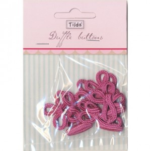 Brandebourg Tilda rose / 6 pc