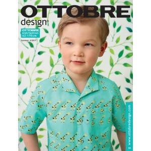 Magazine  patron couture enfant mode Ottobre Design Kids 3/2017