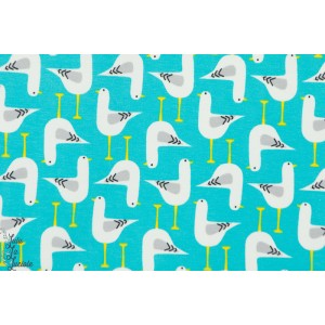 Jersey Bio Seagulls Turquoise