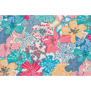Liberty Mauvey liberty of london fleur multicolore