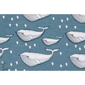 Jersey Bio Baleine bleu