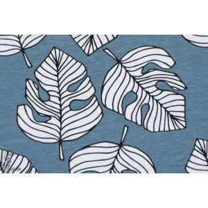 Jersey Bio Monstrera Bleu Elvelyckan Design