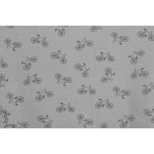 Jersey gris motif Bicyclette