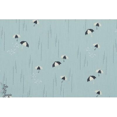 Popeline Rainbrella Mist pluie parapluie charleston art gallery fabric