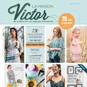 Maison victor 3/2017 patron couture femme homme enfant