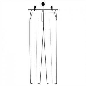 Patron couture Pantalon Albertine femme mode laboratoire familial