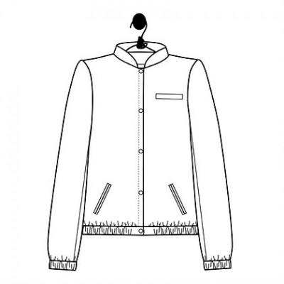 Gut gemocht Patron Teddy Célestine couture veste femme le laboratoire familial RT05