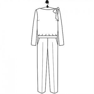 Patron combinaison HONORINE le laboratoire familial mode couture femme