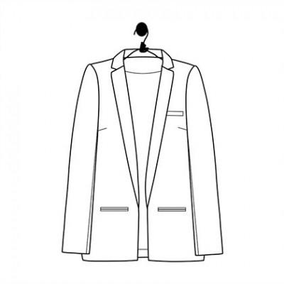 Léontine Patron Femme Laboratoire Veste Familial Mode Le Couture vgyf6Yb7