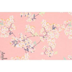 Jersey AGF fleur de cerisier /rose