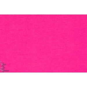 Jersey Bio Pink rose lillestoff uni fille