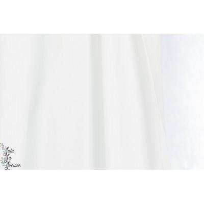Voile de Coton blanc par KOKKA
