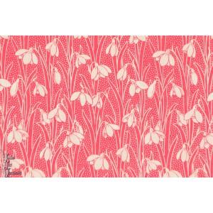 Tissu Liberty Hesketh rose fleur liberty of london batiste tana lawn